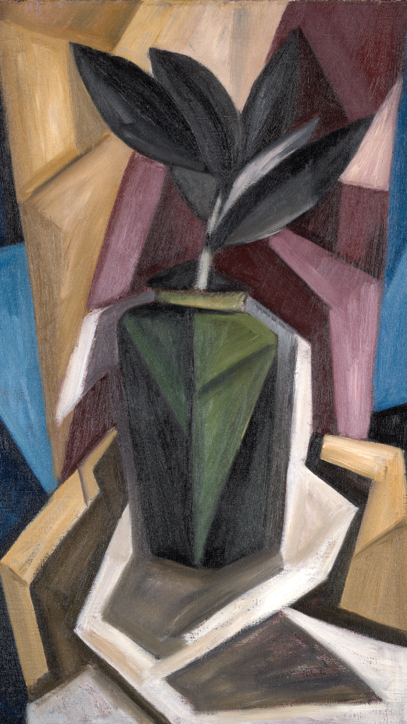 Rubber Plant by Marsden Hartley