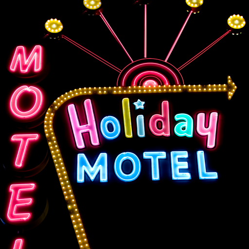 Holiday Motel by Carol M. Highsmith