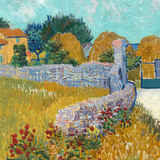 Farmhouse in Provence by Vincent van Gogh