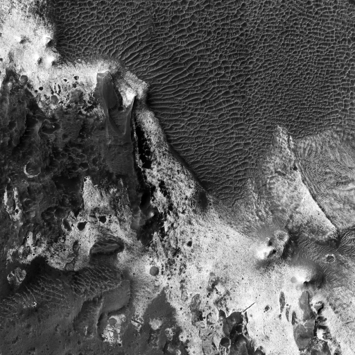 Northern Wall of Melas Chasma by undefined