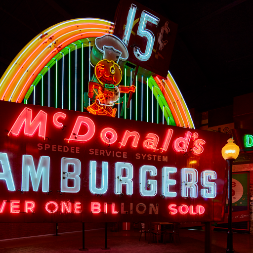 McDonald's Hamburgers by Carol M. Highsmith