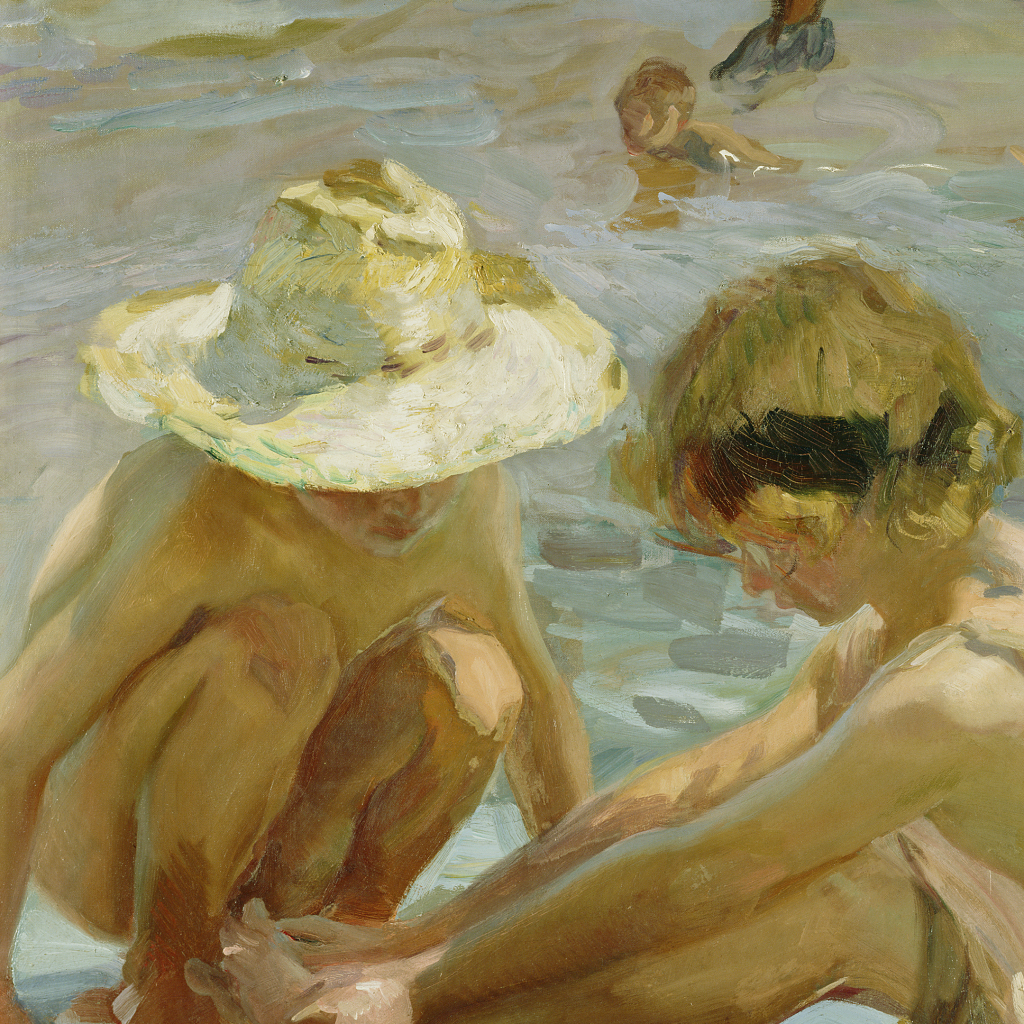 The Wounded Foot by Joaquin Sorolla y Bastida