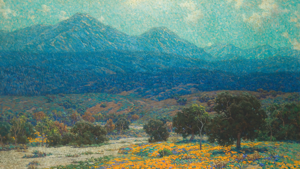 California Poppy Field by Granville Redmond