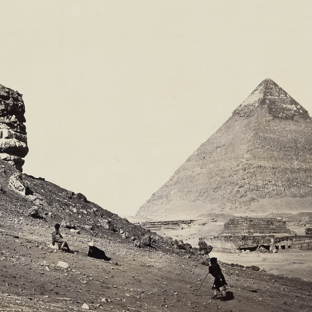 The Second Pyramid from the Southeast by Francis Frith