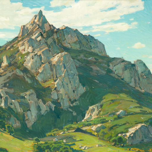 Where Nature's God Hath Wrought by William Wendt