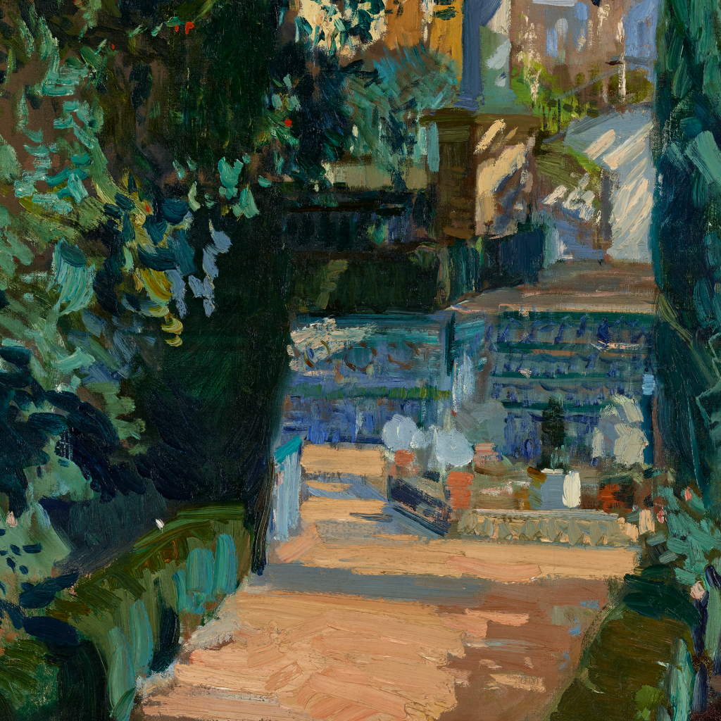 Court of the Dances, Alcázar, Sevilla by Joaquin Sorolla y Bastida