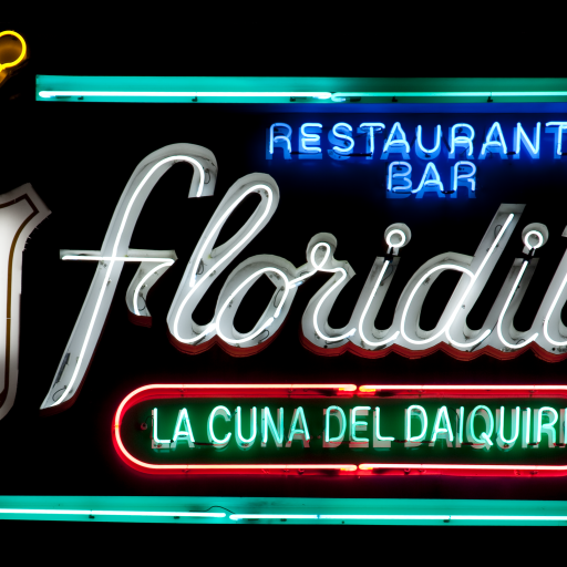 Floridita Bar by Carol M. Highsmith