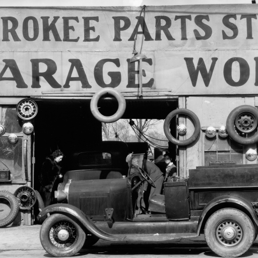 Auto Parts Shop by Walker Evans