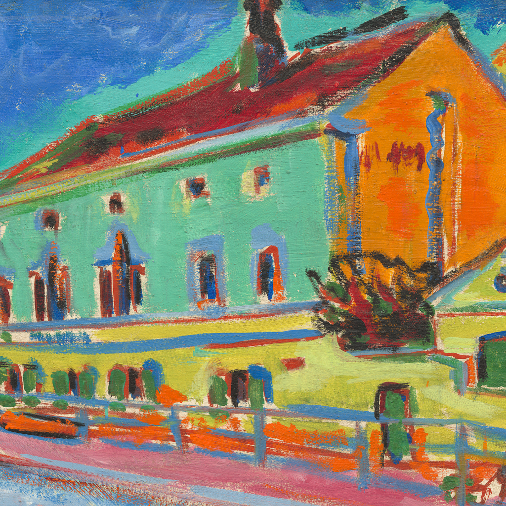 Dance Hall Bellevue by Ernst Ludwig Kirchner