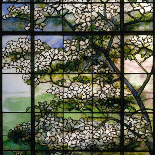 Dogwood by Louis Comfort Tiffany