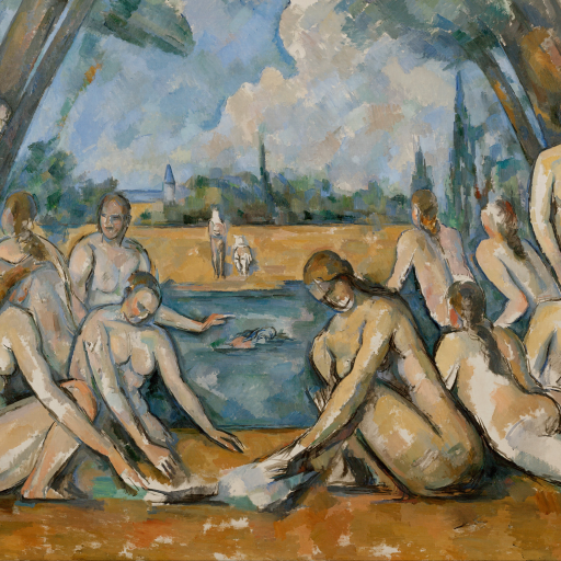 The Large Bathers by undefined