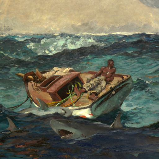 The Gulf Stream by Winslow Homer