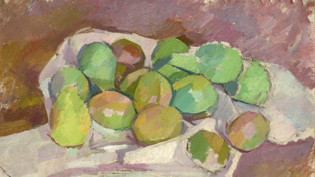 Plums by Patrick Henry Bruce