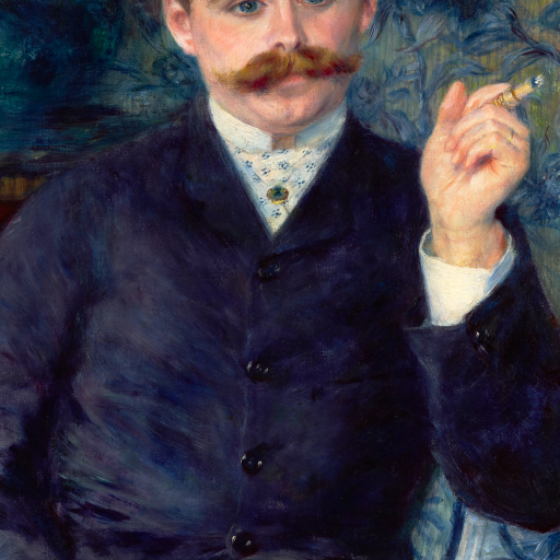Albert Cahen d'Anvers by Pierre-Auguste Renoir