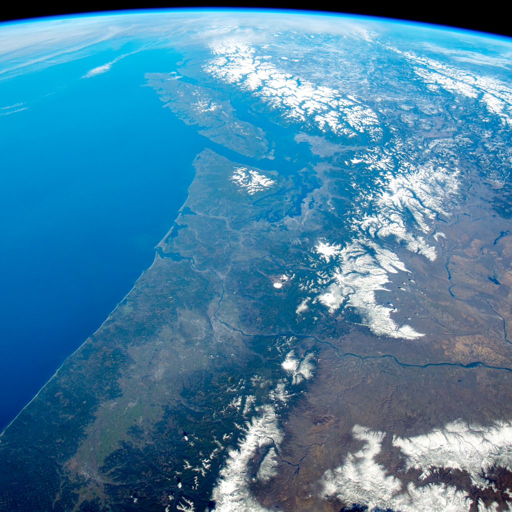Panorama of the Pacific Northwest by undefined