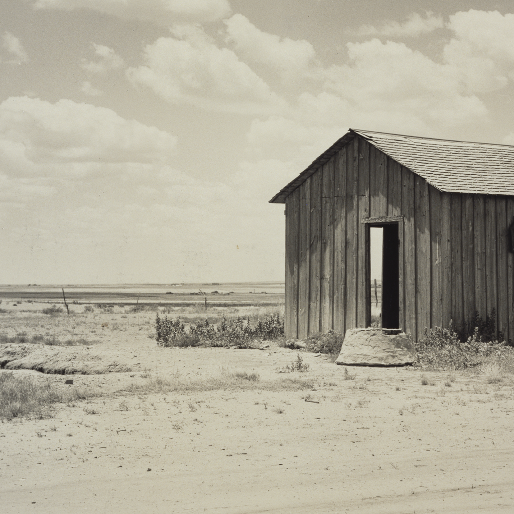 Abandoned Dust Bowl Home by Dorothea Lange