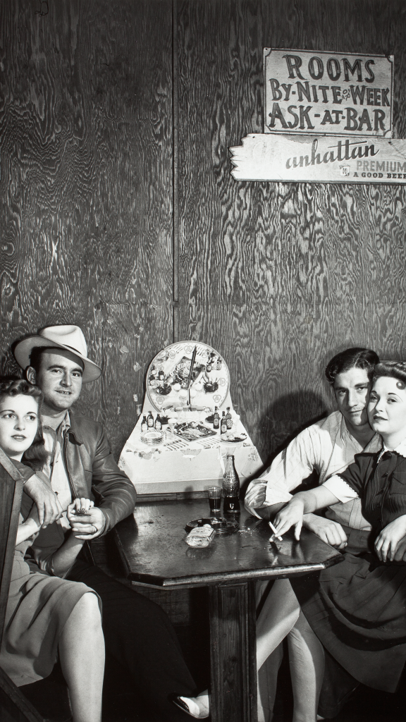 Couples in Juke Joint, Moore Haven, Fla. by Marion Post Wolcott