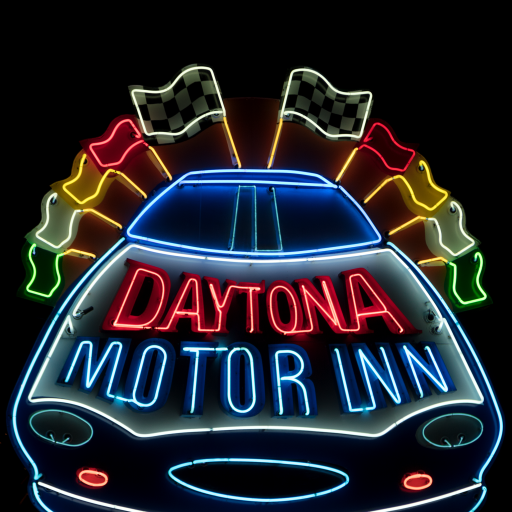 Daytona Motor Inn by Carol M. Highsmith