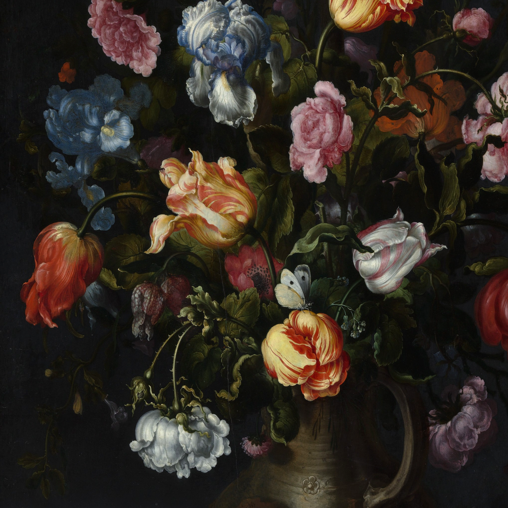 A Vase with Flowers by undefined