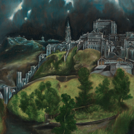 View of Toledo by El Greco
