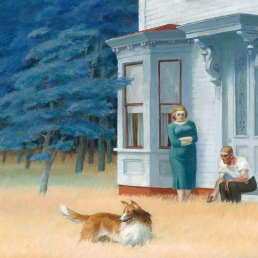 Cape Cod Evening by Edward Hopper
