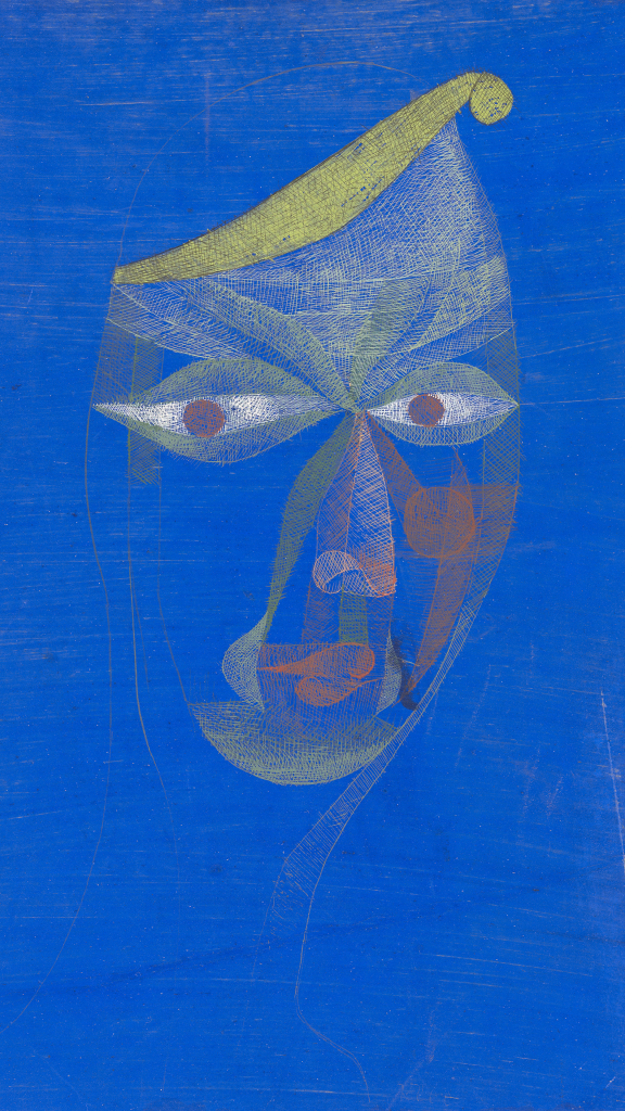 Portrait of an Oriental by Paul Klee