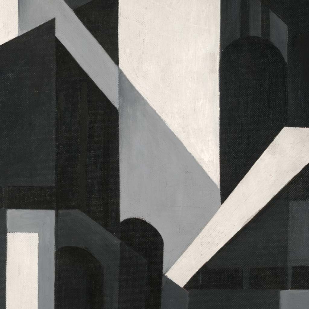 City Shapes by Louis Lozowick