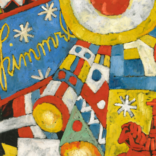 Himmel by Marsden Hartley