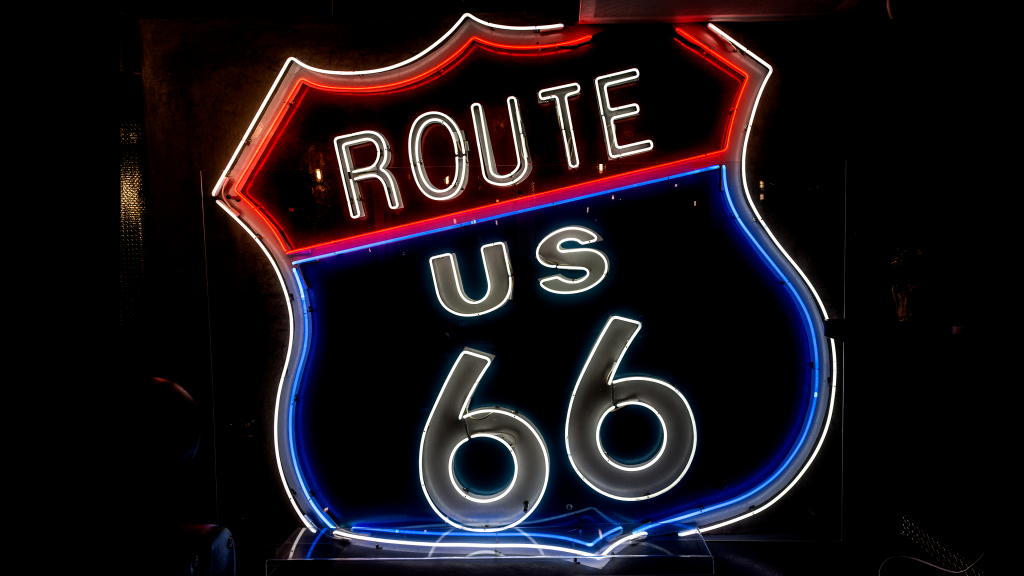 Route 66 by Carol M. Highsmith