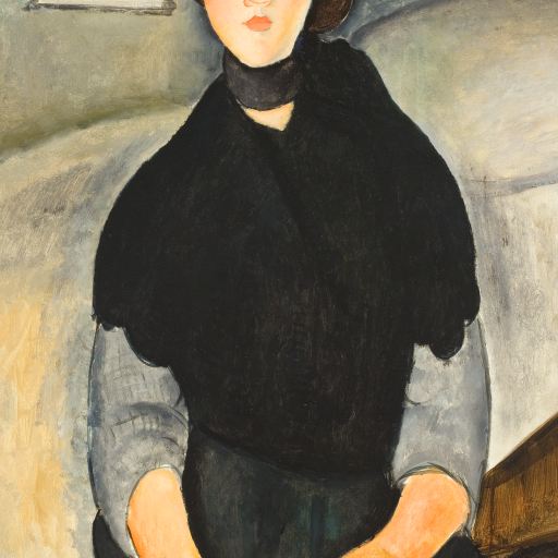 Young Woman of the People by Amedeo Modigliani