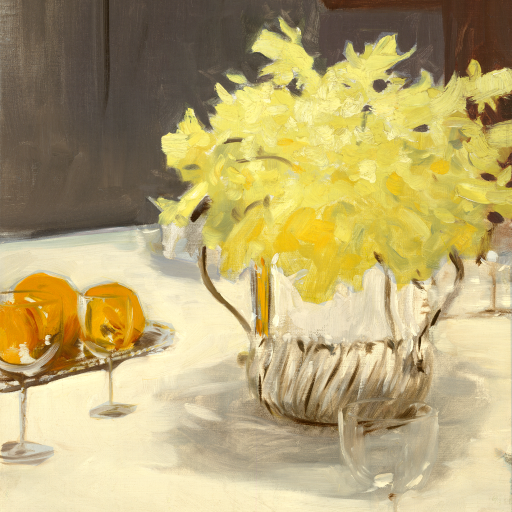 Still Life with Daffodils by undefined