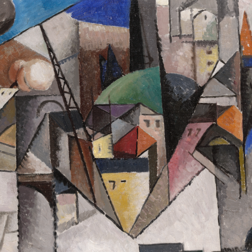 Landscape by Albert Gleizes