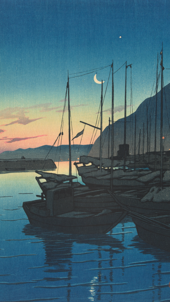 Morning in Beppu by Kawase Hasui