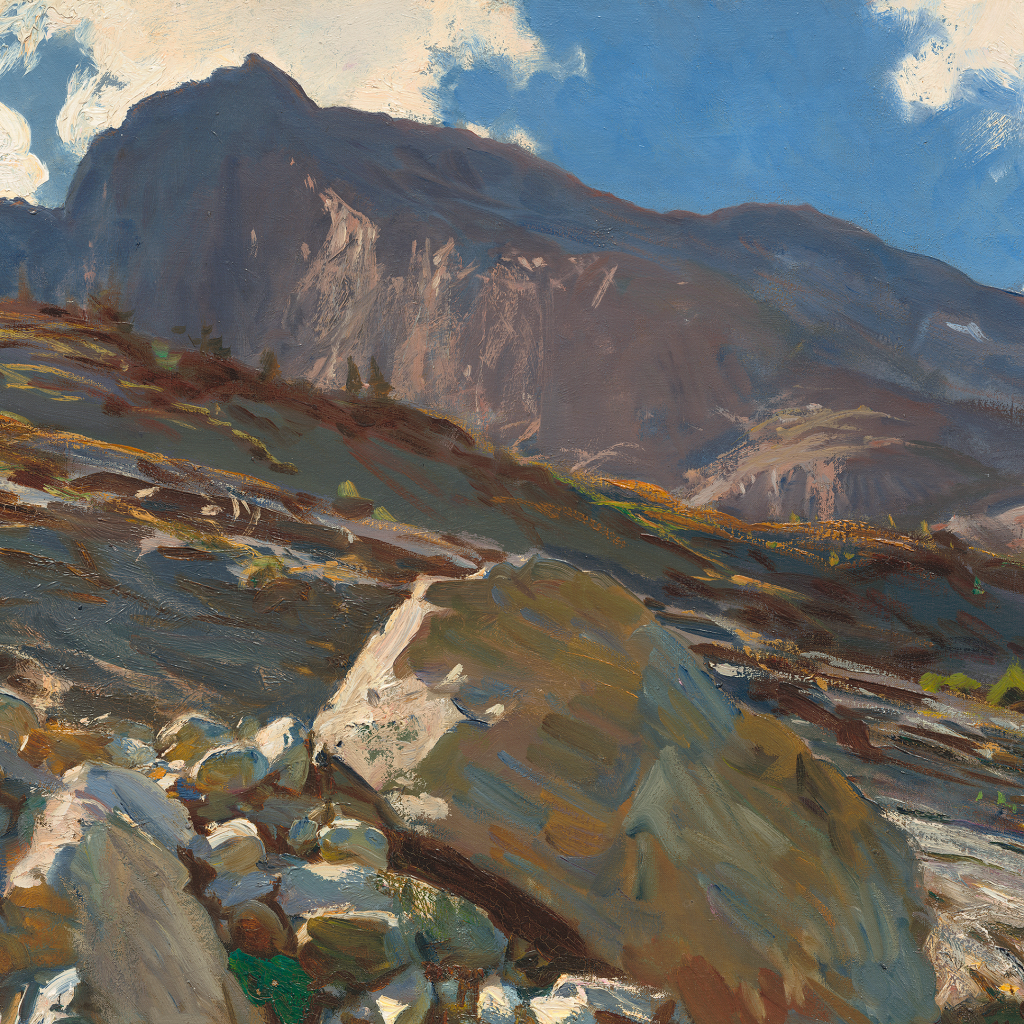 Simplon Pass by John Singer Sargent