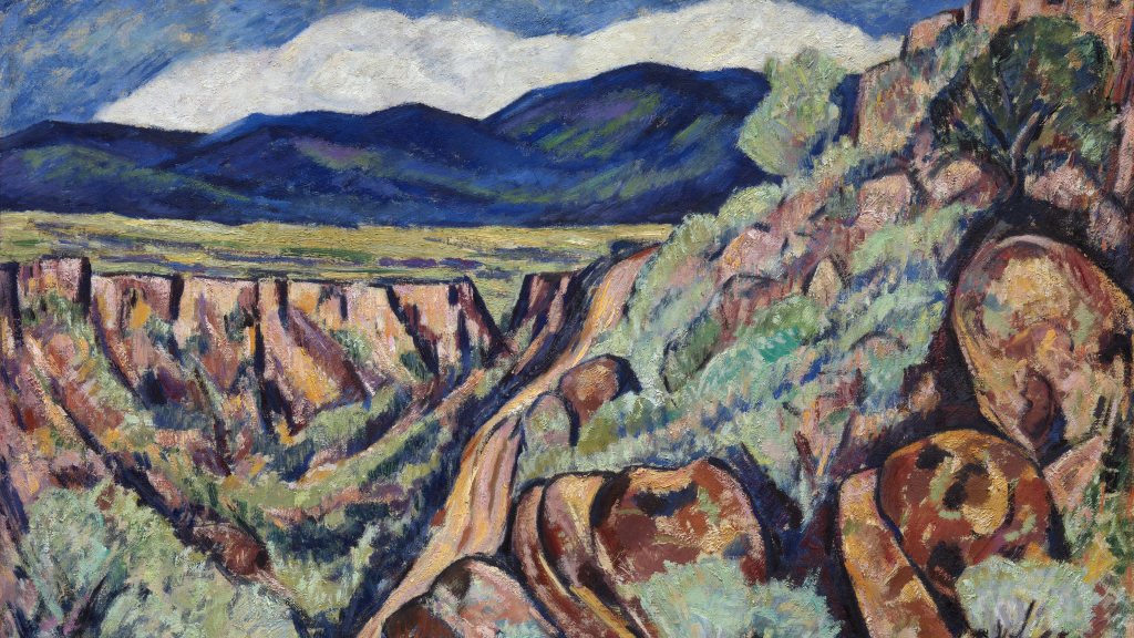 Landscape, New Mexico by Marsden Hartley
