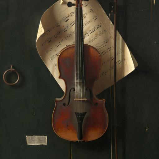 The Old Violin by undefined