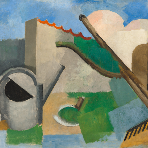 The Watering Can (Emblems: The Garden) by Roger de La Fresnaye