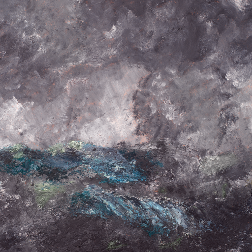 "Storm in the Skerries. ""The Flying Dutchman"" by August Strindberg"