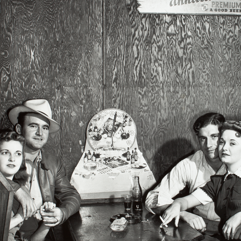 Couples in Juke Joint, Moore Haven, Fla. by undefined