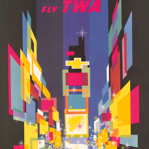 New York – Fly TWA by undefined