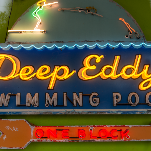 Deep Eddy Swimming Pool by Carol M. Highsmith