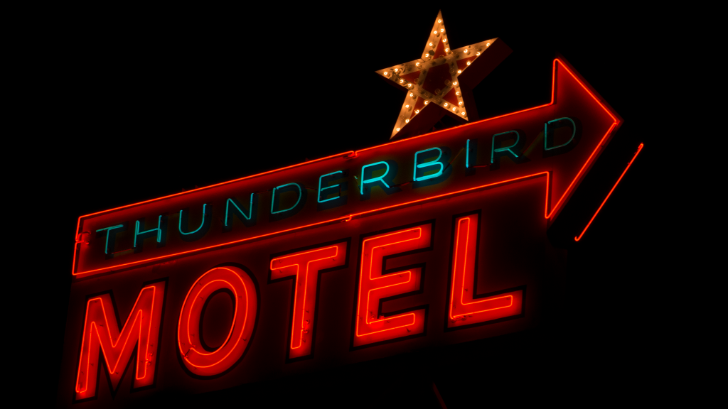 Thunderbird Motel by Carol M. Highsmith