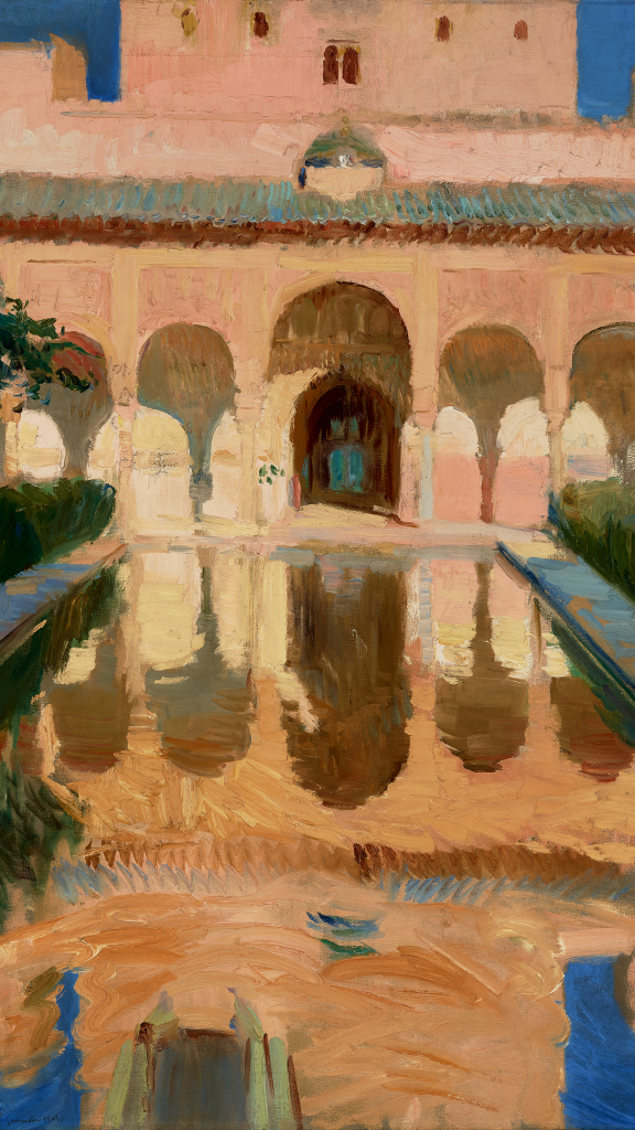 Hall of the Ambassadors, Alhambra, Granada by Joaquin Sorolla y Bastida