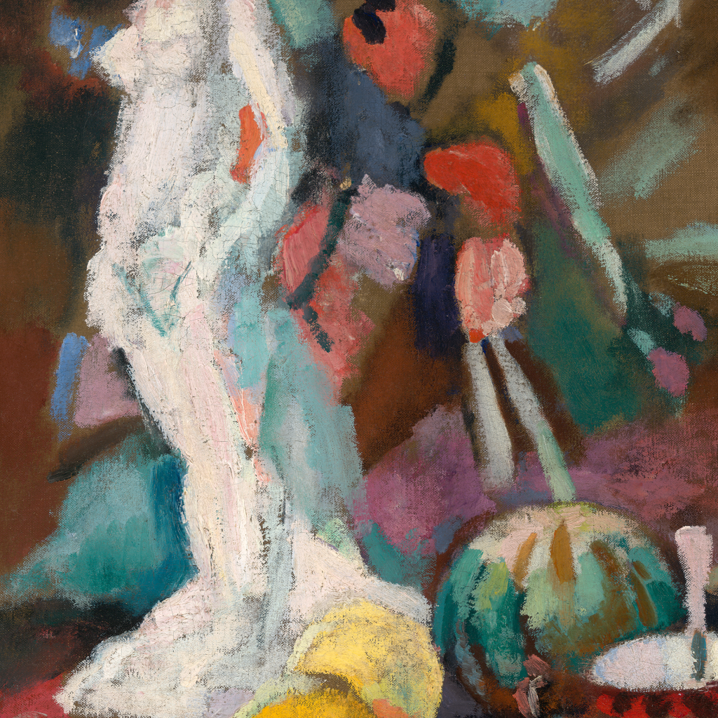 Still Life with Plaster Figure by undefined