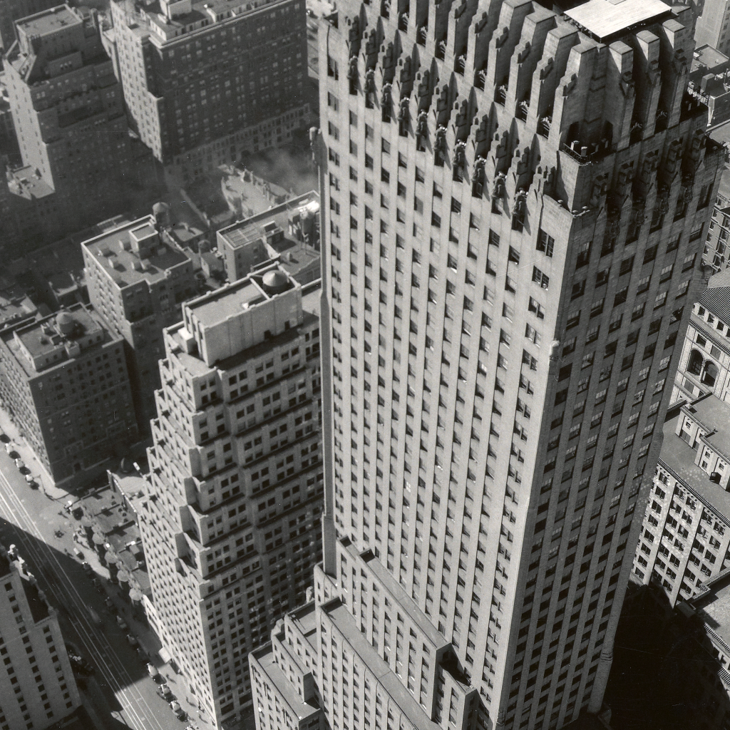 Chanon Building, New York by Berenice Abbott
