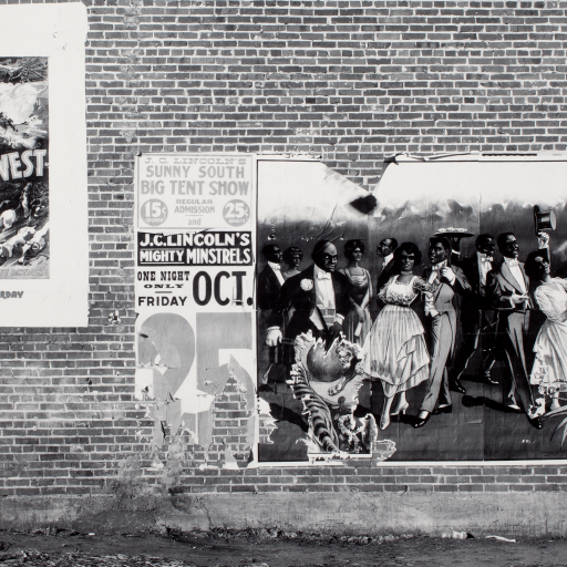 Minstrel Showbill, Alabama by Walker Evans