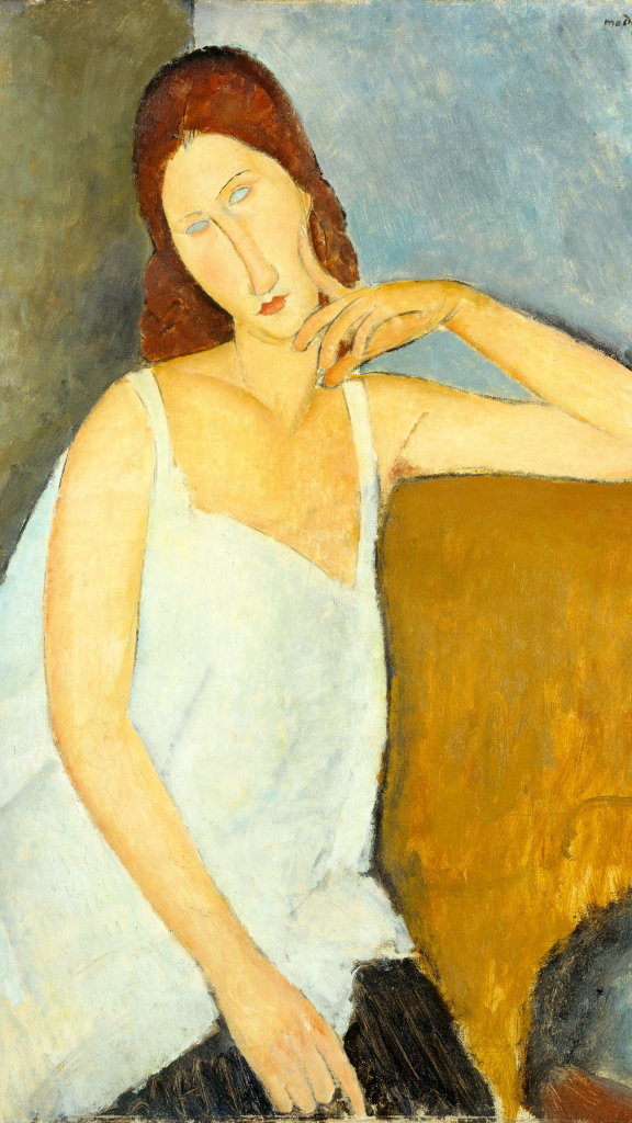Jeanne Hébuterne by Amedeo Modigliani