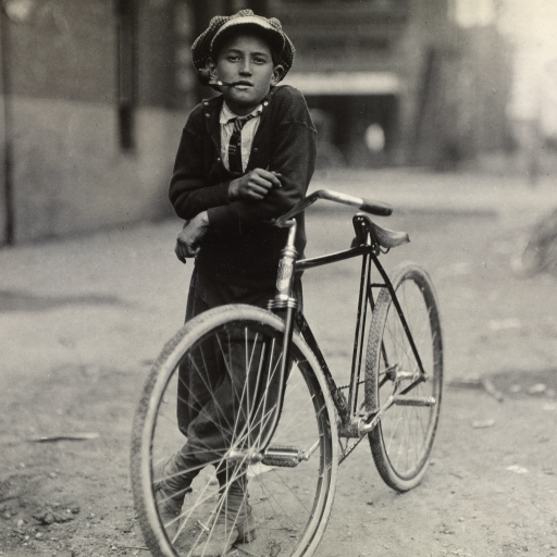 Messenger Boy by Lewis Hine