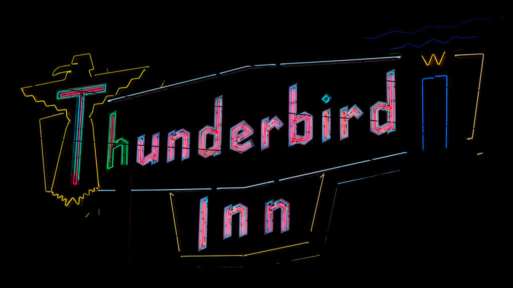 Thunderbird Inn by Carol M. Highsmith