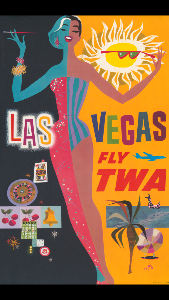 Las Vegas - fly TWA by David Klein